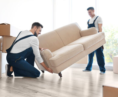 How To Move Your Large Furniture Safely?